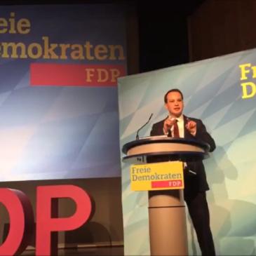 Matthias Fischbach ins bayerische FDP-Präsidium gewählt, MdB Britta Dassler wieder stellvertretende Landesvorsitzende